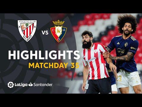 ⚽ HIGHLIGHTS I Athletic Club 2-2 CA Osasuna I LaLiga Matchday 35