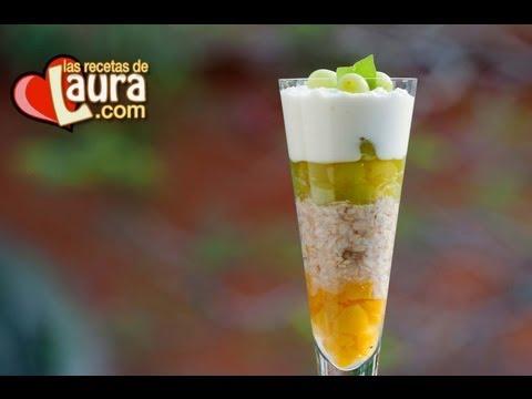 Desayuno Saludable ♥ Avena con yogurt ♥ Comida Saludable ♥Las recetas de Laura