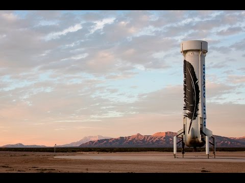 New Shepard test flight and booster landing