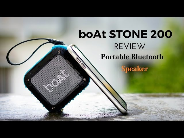 BoAt stone 200 portable bluetooth speaker review -Audio test in the 1st 20 seconds