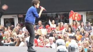 Austin Mahone Say You're Just a Friend July 13, 2013 Metlife New Jersey