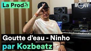 """NINHO   """"Goutte D'eau"""" : Comment Kozbeatz A Créé Le Hit"""