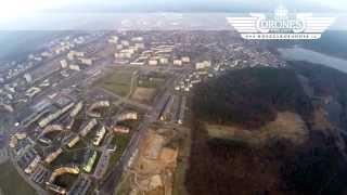 preview picture of video '2015-03-23 Budowa AQUAPARK Tychy - Osiedle Cztery Pory Roku - Widok na panoramę miasta TYCHY HD'