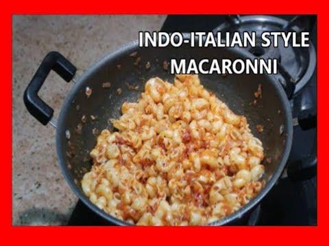 INDO – ITALIAN RECIPE – MACRONNI – INDIANMOMLIFESTYLETAMIL