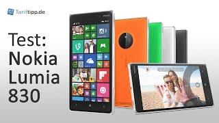 Nokia Lumia 830 | Test deutsch