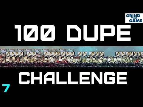 100 Dupe Challenge - Oxygen Not Included - #7 (cycle 91-125, 41 dupes)