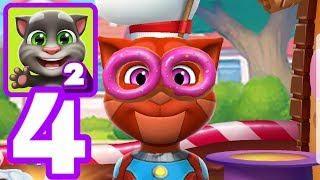 MY TALKING TOM 2 - Gameplay Walkthrough Part 4 iOS / Android - Level 30 Candy Kingdom Unlocked