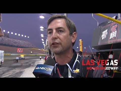 Randall Burnett explains decision to stretch fuel | NASCAR Xfinity Series at Las Vegas