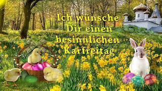 Liebe Grüße Zum Karfreitag...