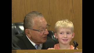 Judge allows kid to choose dad's punishment