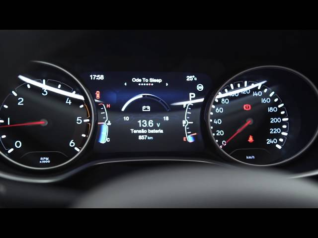 Jeep Compass - Interna Vermelha
