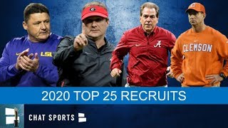 Top 25 Recruits In 2020 Class And Where They Signed | College Football National Signing Day