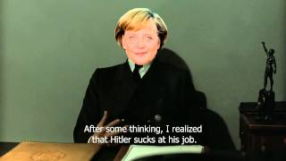 Angela Merkel is now the Führer