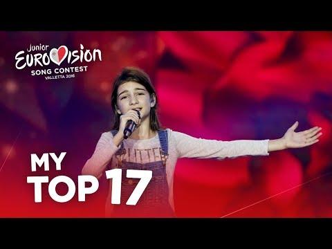 Junior Eurovision 2016 - Top 17