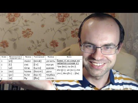 ПРАКТИЧЕСКИЙ КУРС ЧТЕНИЯ И ПРОИЗНОШЕНИЯ - УРОК 2  Английский язык  Уроки английского языка
