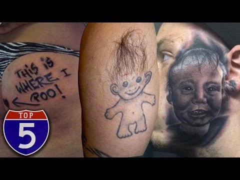 Video Top 5 Most Painful Places To Get Tattoos