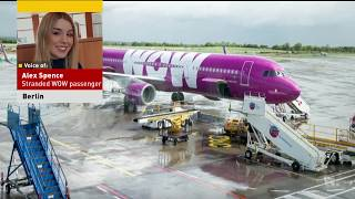 WOW Air Shuts Down, Strands Passengers