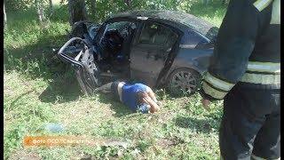 В автомобильной  аварии пострадало пять человек