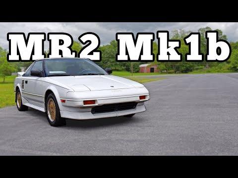 1988 Toyota MR2 AW11 Mk1b