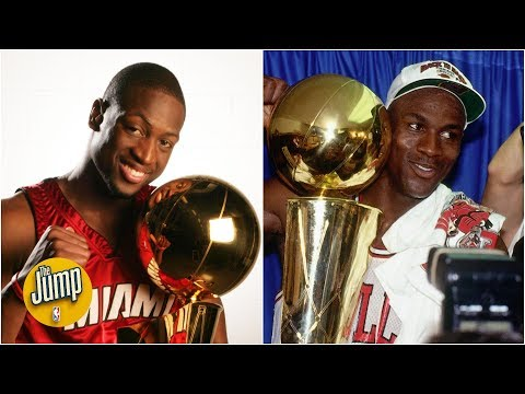 , title : 'Where does Dwyane Wade rank among the greatest SGs ever? | The Jump'