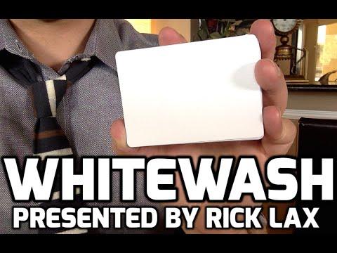 Whitewash by Rick Lax