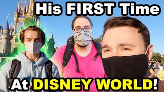 WE FOUND A FAMOUS YOUTUBER AT DISNEY WORLD!!