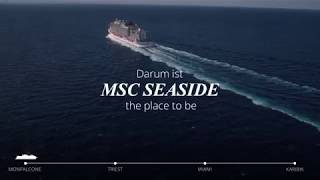 MSC Seaside: The Place To Be