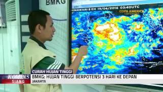 BMKG Hujan Tinggi Berpotensi 3 Hari Ke Depan
