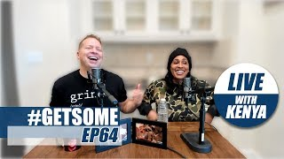 Gary Owen & Wife Kenya On R Kelly and Kevin Hart & Ellen | #GetSome Podcast EP64