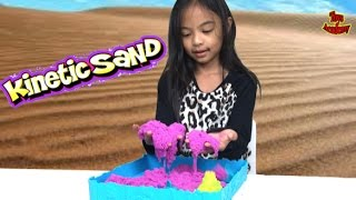 Sandcastle Set Kinetic Sand Unboxing   Toys Academy