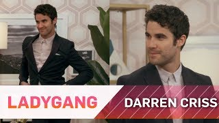 Darren Criss Plays Bust A Mime Game | LadyGang | E!
