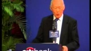 Speech by Prime Minister Lee Kuan Yew in Hong Kong - Legacies Leadership