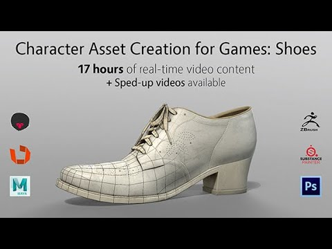 Character Asset Creation for Games: Shoes