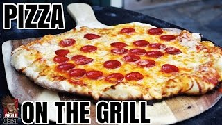 Pepperoni Pizza On The Grill Recipe - Grill Beast