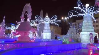 Ледовый городок в Екатеринбурге!!!