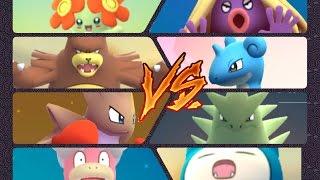 Slowking  - (Pokémon) - Pokémon GO Gym Battles team 2 Gyms Tyranitar Ursaring Slowking Bellossom Scizor Hitmonchan & more
