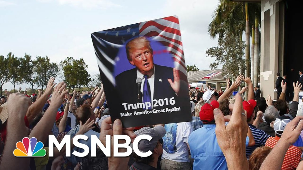 How President Donald Trump Would Fare In Court On Rally Violence | For The Record | MSNBC thumbnail
