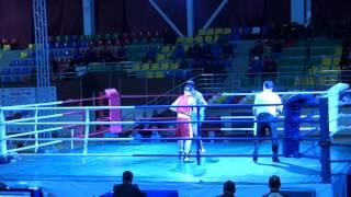 Чемпионат РК по боксу в Таразе 2014 г. Аслан (Тараз)-Сергей (Костанай)
