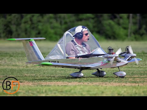 Smallest Mini Aircraft In The World