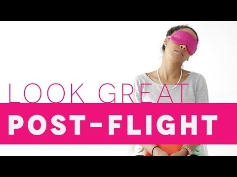5 Products to Help You Look Great Post-Flight