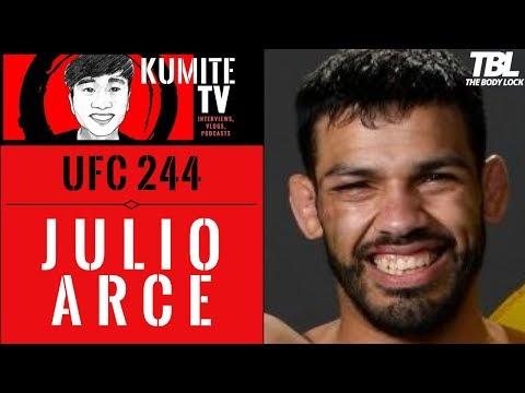 Julio Arce has a couple tricks up his sleeve for Hakeem Dawodu at UFC 244