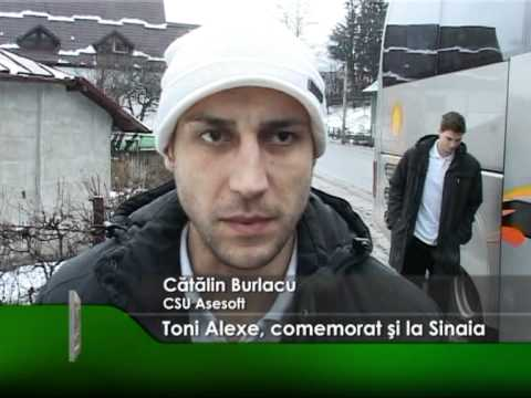 Toni Alexe, comemorat şi la Sinaia