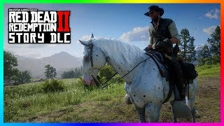 Red Dead Redemption 2 Story Mode DLC Content - NEW HORSES! How To Find The RARE Few Spot Appaloosa!