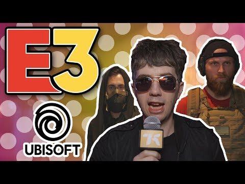 We Checked Out Ubisoft's E3 Booth