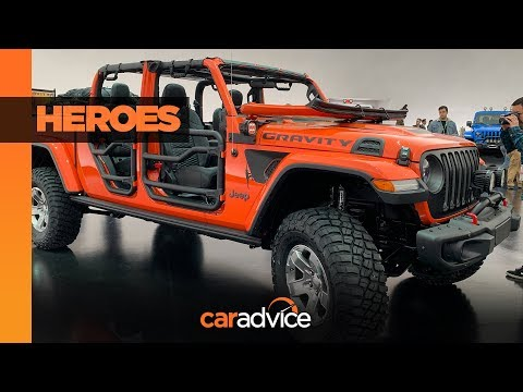 2019 Easter Jeep Safari concept walkaround