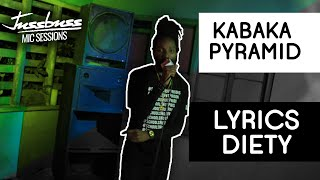 Kabaka Pyramid | Lyrics Deity | Jussbuss Mic Sessions | Season 1 | Episode 2
