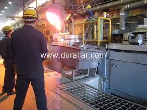 Silvan Döküm Sanayi -Dökümhane Süpürgesi Videosu-DTM-605 Endüstriyel Süpürge