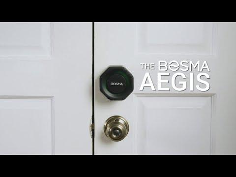 Aegis: The Most Secure WiFi Smart Deadbolt Ever-GadgetAny