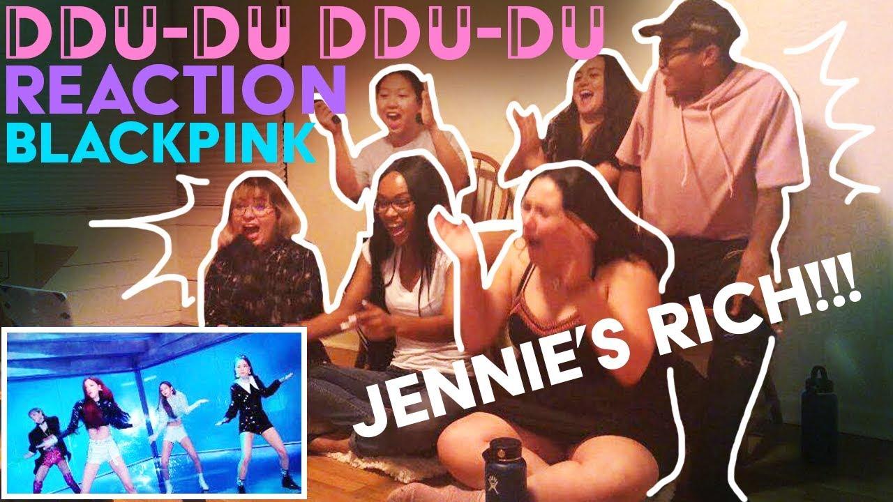 UnderSkore] Blackpink DDU-DU DDU-DU MV Reaction - YouTube