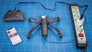Parrot Anafi Compass Calibration in Freeflight 6 - hmong video